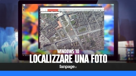 Come localizzare una foto con Windows 10