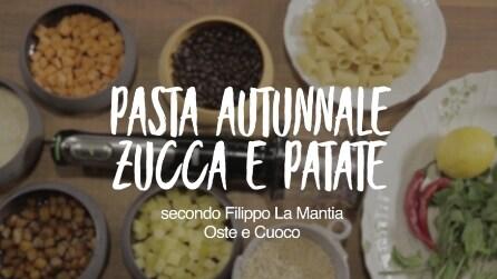 Zucca e patate, la pasta autunnale facile e gustosa