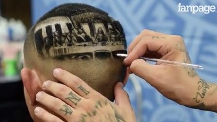 L'Ultima Cena di Leonardo diventa un taglio di capelli: non crederete ai vostri occhi