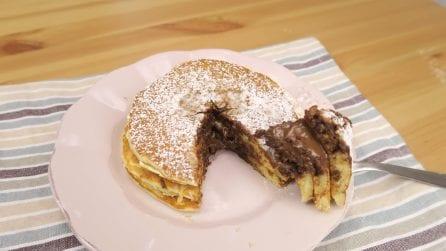 Pancakes dal cuore morbido: perfetti per una dolce colazione