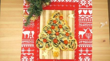Albero di girelle: il centrotavola natalizio tutto da gustare!