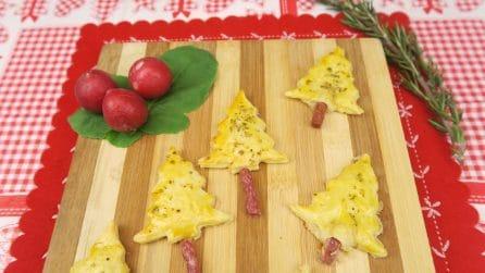 Alberelli ripieni: l'antipasto carino e sfizioso per Natale!