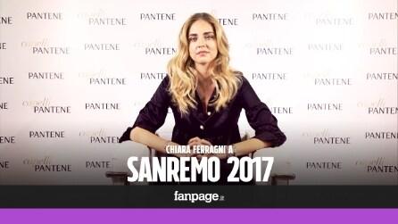 """Chiara Ferragni: """"Non vado a Sanremo ma il mio sogno è cantare"""""""