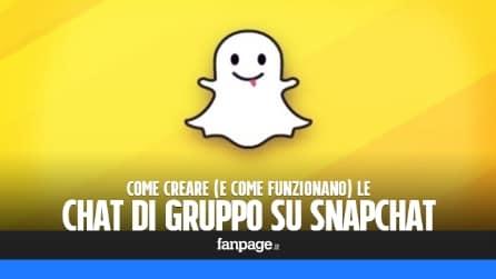 Come creare una chat di gruppo su Snapchat