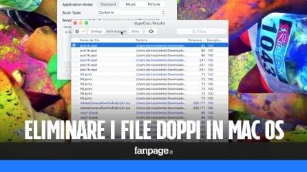 Come cancellare file doppi su Mac