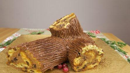 Tronchetto di Natale senza cottura: la ricetta facile e veloce!
