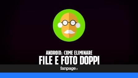 Eliminare i file (e le foto) duplicati in Android