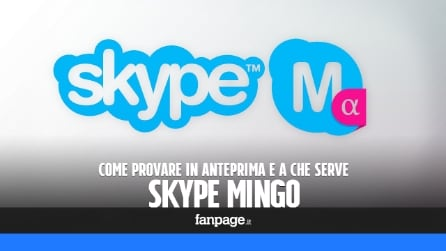 Provare Skype Mingo, la nuova app di Skype per chiamate e messaggi