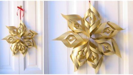 Come realizzare una stella di Natale con il cartoncino