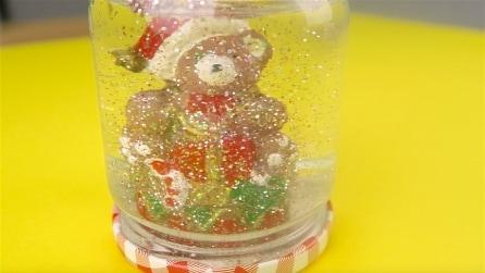 Come fare una palla di vetro con la neve