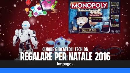 5 giocattoli tech da regalare a Natale 2016