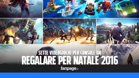 7 videogiochi per console da regalare a Natale 2016