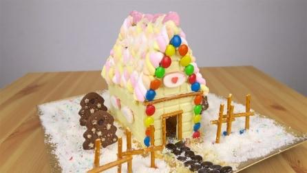 Come realizzare una casetta di zucchero