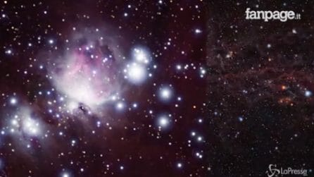 I segreti delle nubi di Orione: nuove e spettacolari immagini dallo spazio