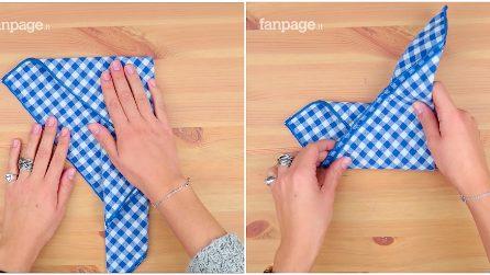 Decorare la tavola: ecco come piegare un tovagliolo