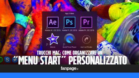 """Creare un """"Menu Start"""" personalizzato nel dock di macOS"""