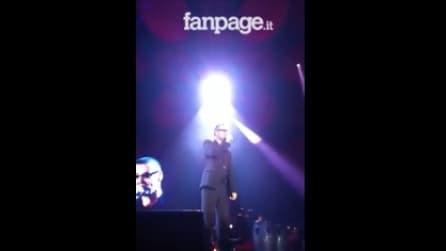 Quando George Michael si esibì all'Acciaieria Sonora a Napoli
