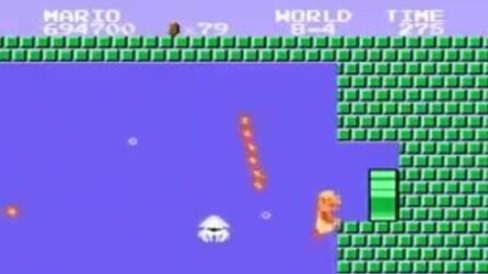 Le avventure di Super Mario Bros, il celebre videogioco della Nintendo