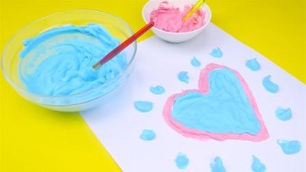 Puffy paint: la pittura soffice e divertente