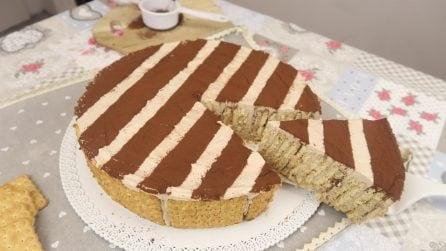 Torta di biscotti: l'idea golosa e originale!