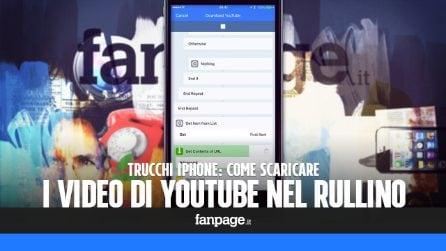 Scaricare i video di YouTube nel rullino fotografico di iPhone