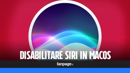 Siri su Mac: come disabilitare l'assistente digitale di Apple e liberare risorse