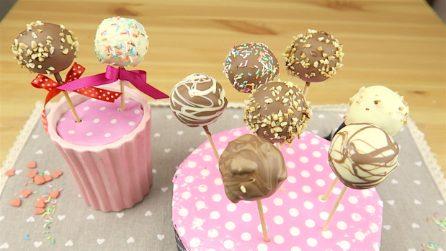 Cake pops: l'idea geniale per utilizzare il pandoro avanzato!