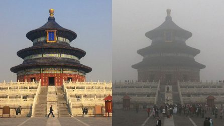 La catastrofe meteorologica in Cina dove il sole è diventato solo un ricordo