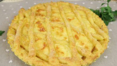 Crostata di patate: la ricetta da provare subito!