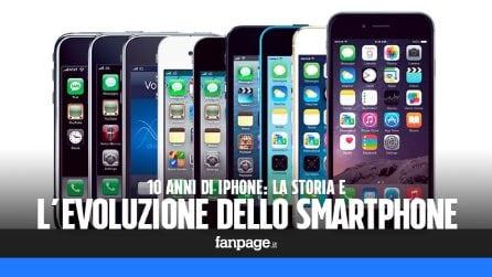 10 anni di iPhone: la storia e l'evoluzione dello smartphone di Apple
