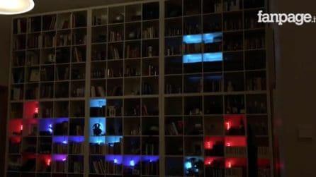 Tetris sulla libreria: il gioco come non lo avete mai visto
