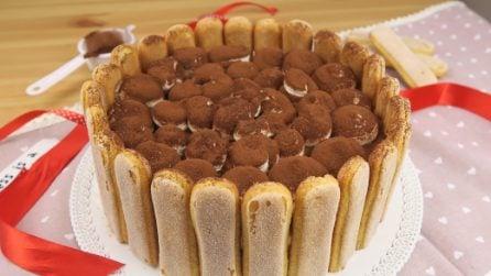 Charlotte tiramisù: la torta perfetta per stupire durante una festa!