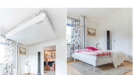Ecco il letto ideale se avete problemi di spazio in casa