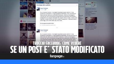 Trucchi Facebook: come vedere se un post è stato modificato