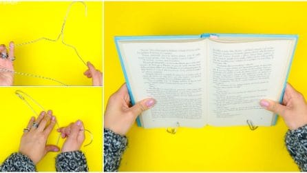 Come creare un leggio con una gruccia