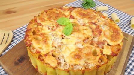 Torta di pasta al forno: il primo piatto con cui stupirete tutti!