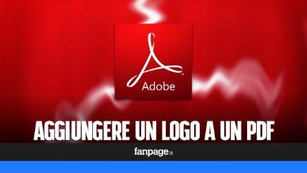 Aggiungere un logo (watermark) a un PDF gratis