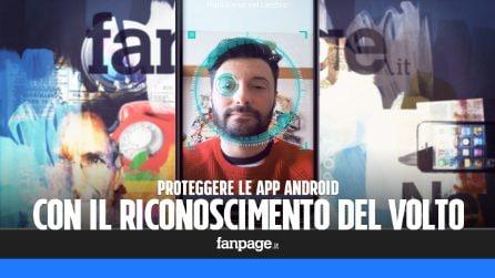 Proteggere le app Android con il riconoscimento del volto