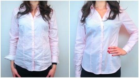 Come stirare una camicia senza il ferro da stiro