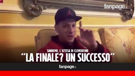 """Sanremo, Clementino in finale: """"Comunque vada sarà un successo. Poi un messaggio ai the JackaL"""""""