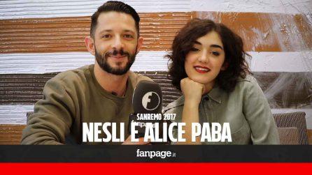 """Nesli e Alice Paba: """"A Sanremo per vincere e convincere"""""""