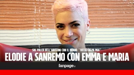 """Elodie pronta per Sanremo 2017: """"Emma e Maria De Filippi mi hanno cambiato la vita"""""""