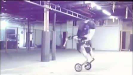 Come in un film, il robot si muove velocemente: il futuro è qui