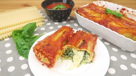 Involtini di lasagna: l'alternativa gustosa e originale!