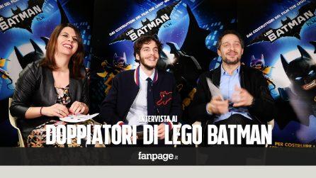 Santamaria, Cucciari, Sperduti: il QUIZ su Batman alle voci italiane di Lego Batman - Il film