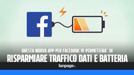 Un'app alternativa per Facebook che vi farà risparmiare batteria e traffico dati