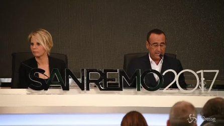 """Sanremo, Carlo Conti: """"22 canzoni big in gara, 8 nuove proposte"""""""