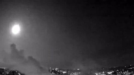 Un lampo improvviso nel cielo: un meteorite avvistato nel Wisconsin