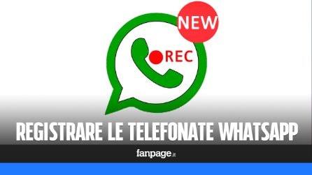 Come registrare le chiamate vocali WhatsApp