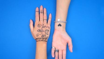 Come fare un tatuaggio temporaneo